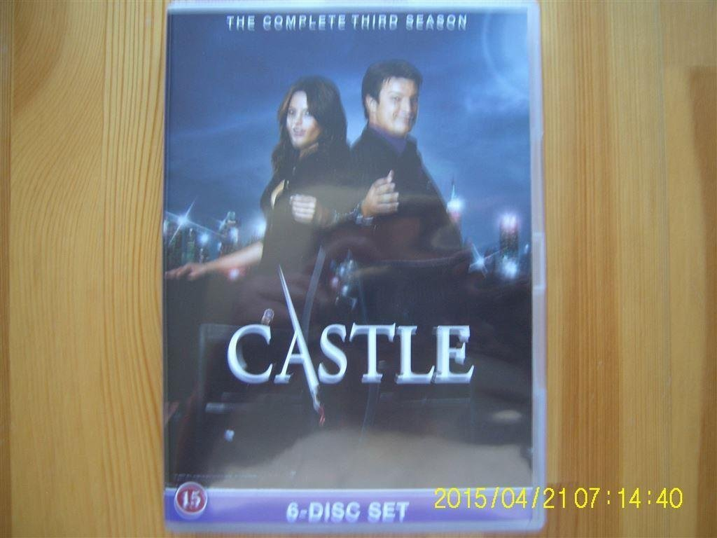 DVD - Castle (Säsong 3) (6-disc)
