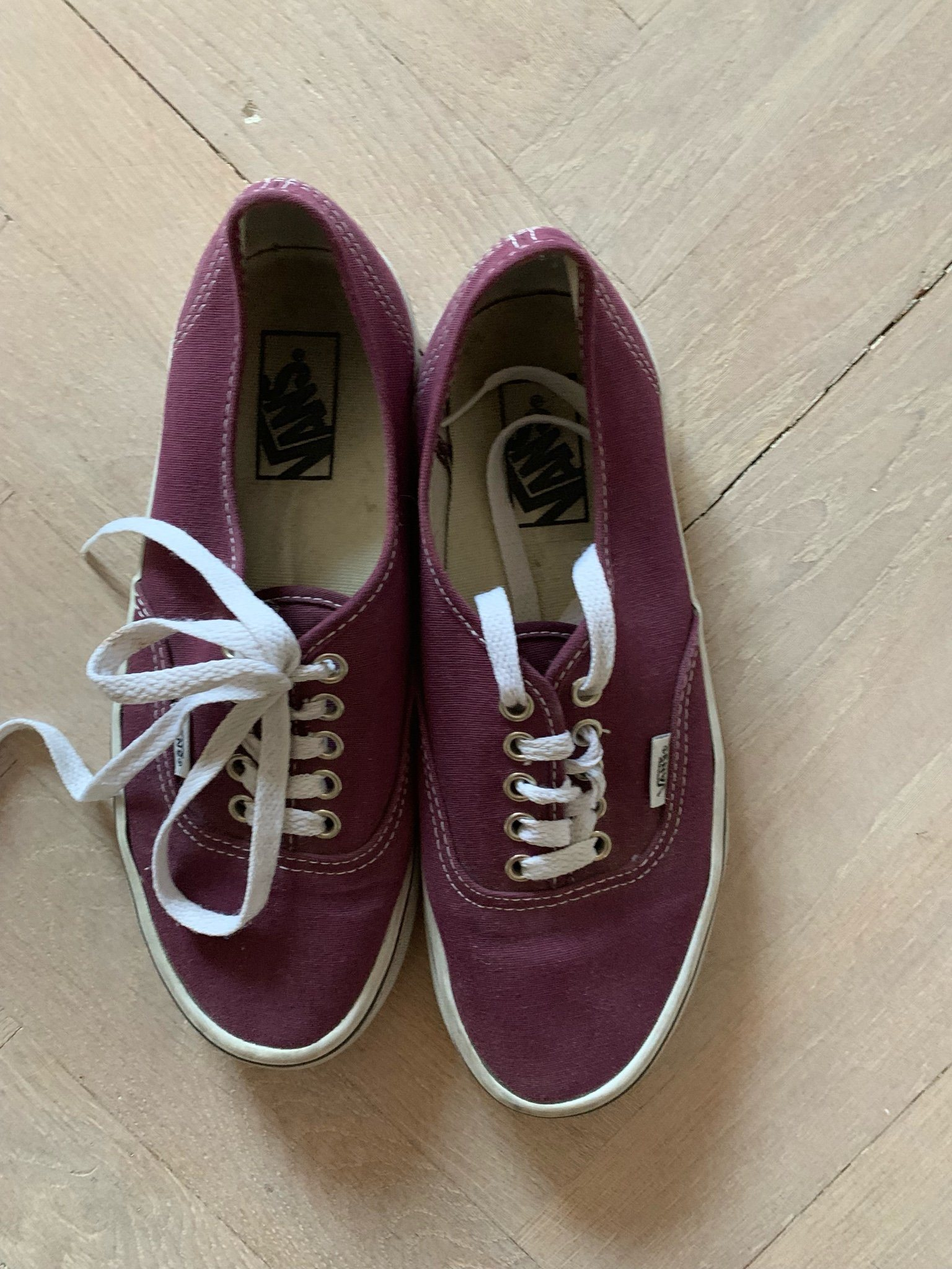 vans skor storlekar