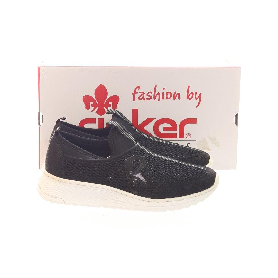Rieker, Sneakers, Strl: 39, N5054 00, Svart