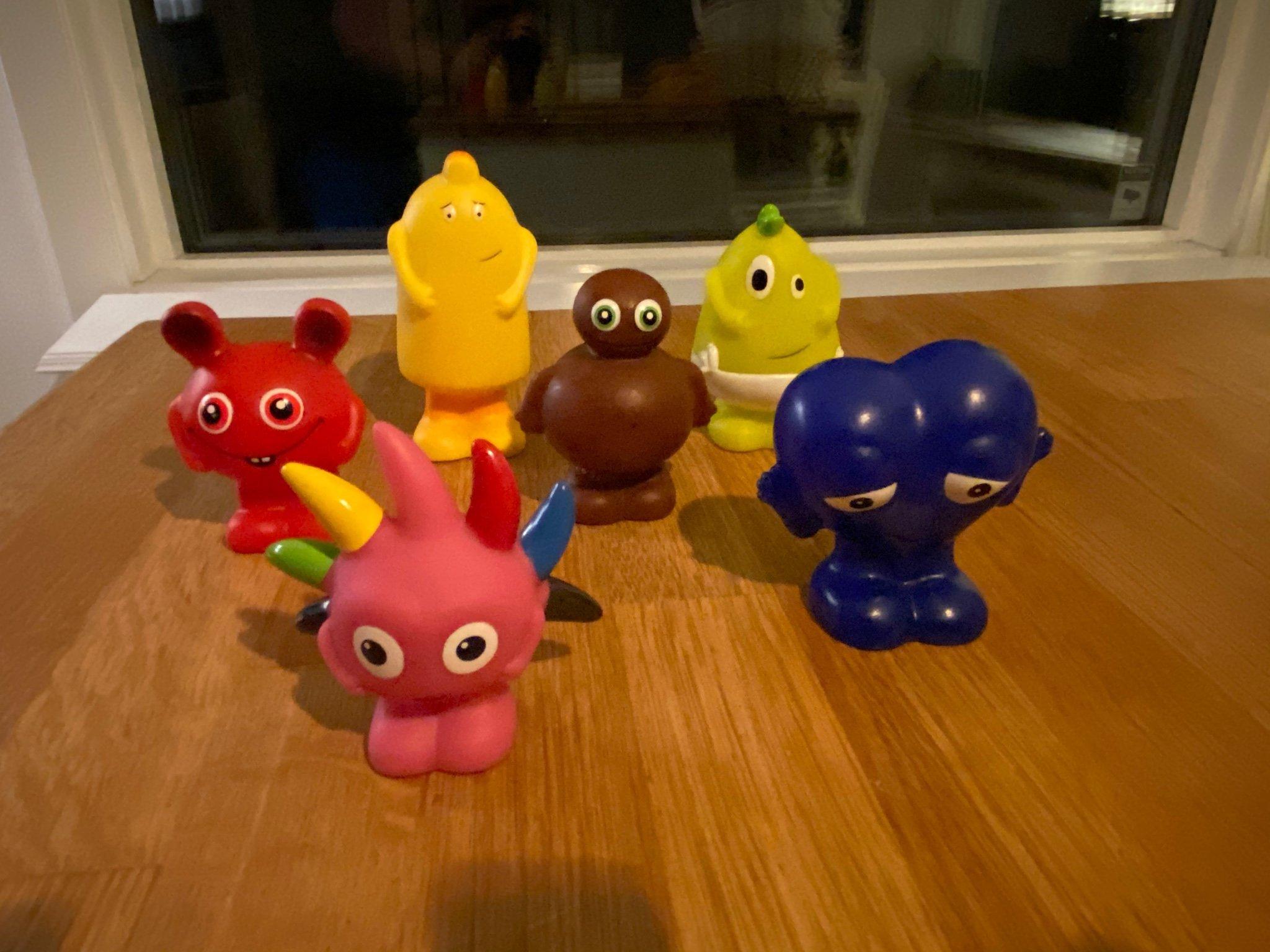 babblarna leksaker plast
