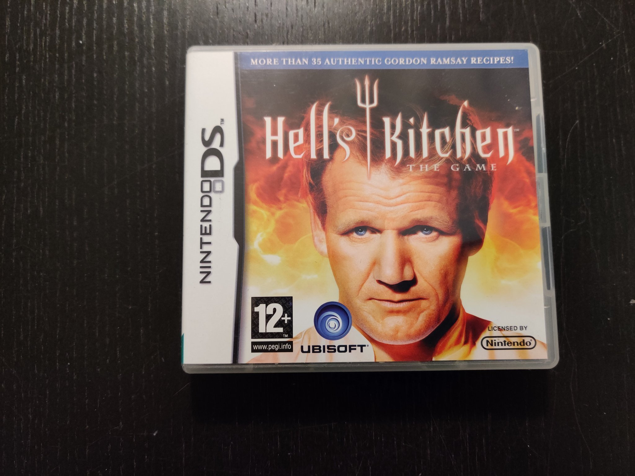 hells kitchen the game nintendo ds