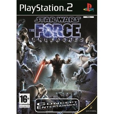 STAR WARS - THE FORCE UNLEASHED (komplett) till Sony Playstation 2, PS2