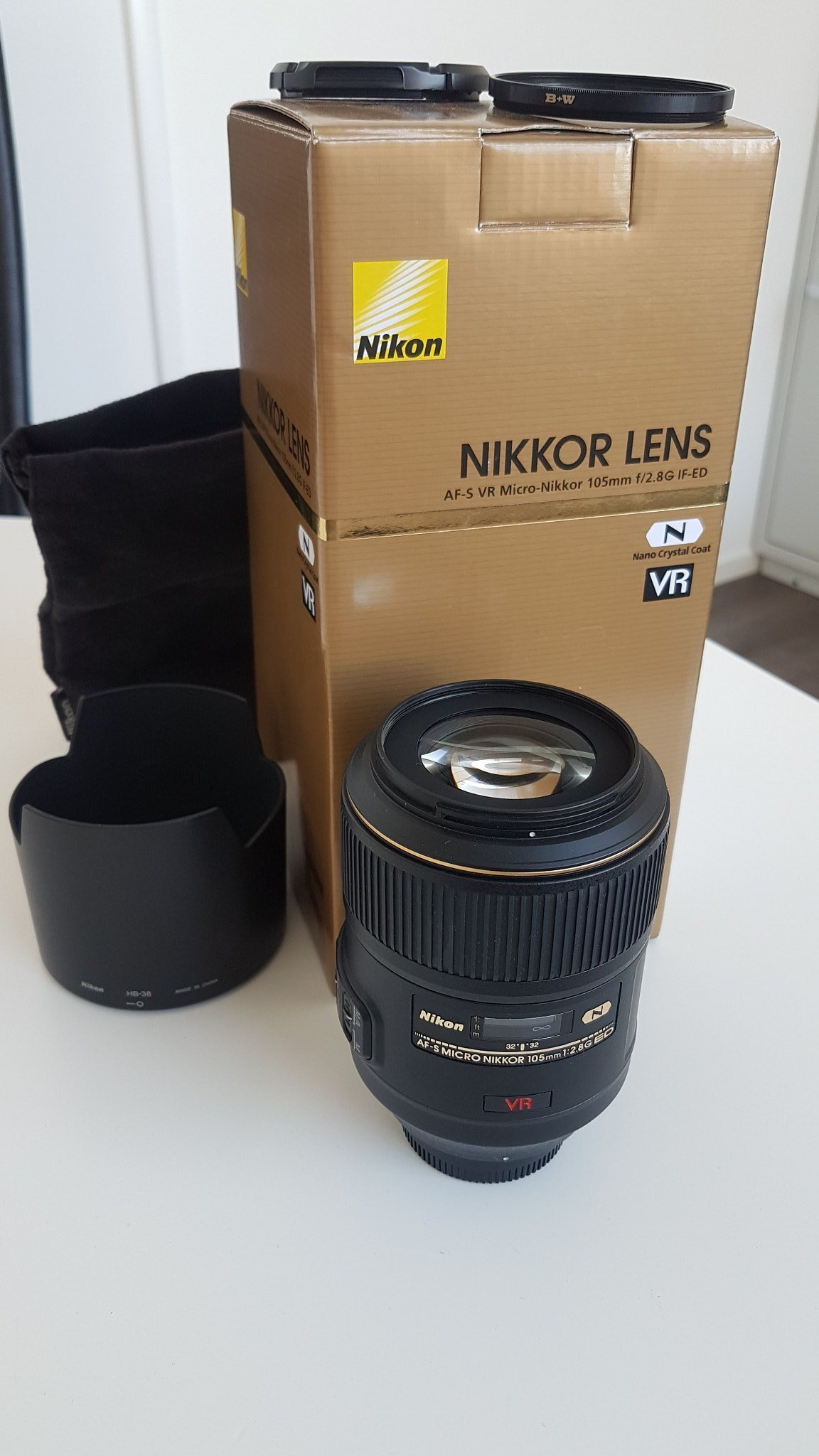 Nikon 105mm VR Micro Nikkor 2.8G IF-ED