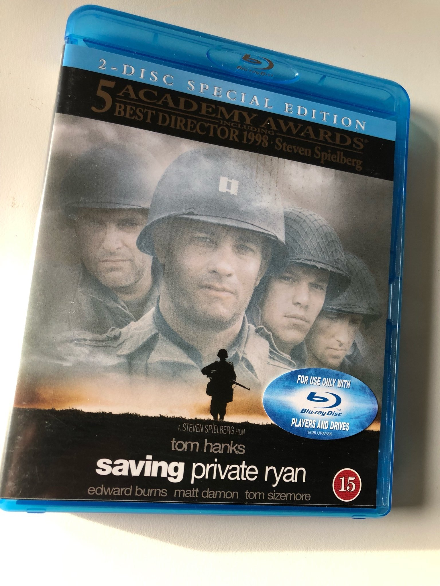 Saving Private Ryan Blu-ray Special Edition 2 disc