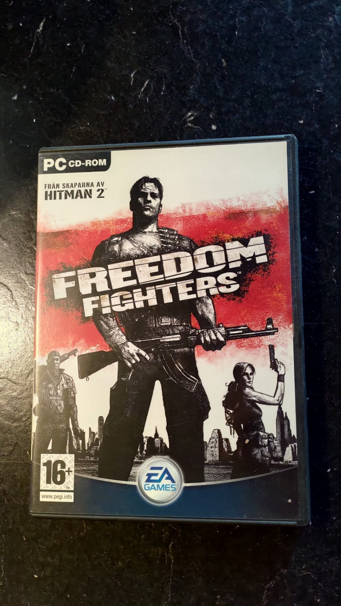Freedom Fighters PC CD 2003