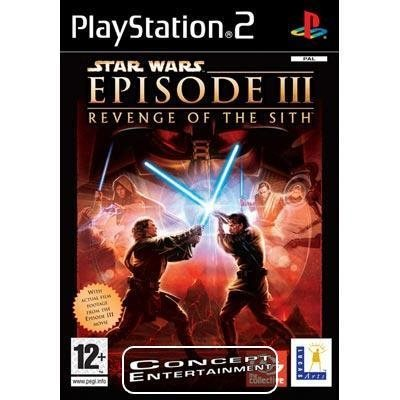 STAR WARS EPISODE 3: REVENGE OF THE SITH (komplett) till Sony Playstation 2, PS2