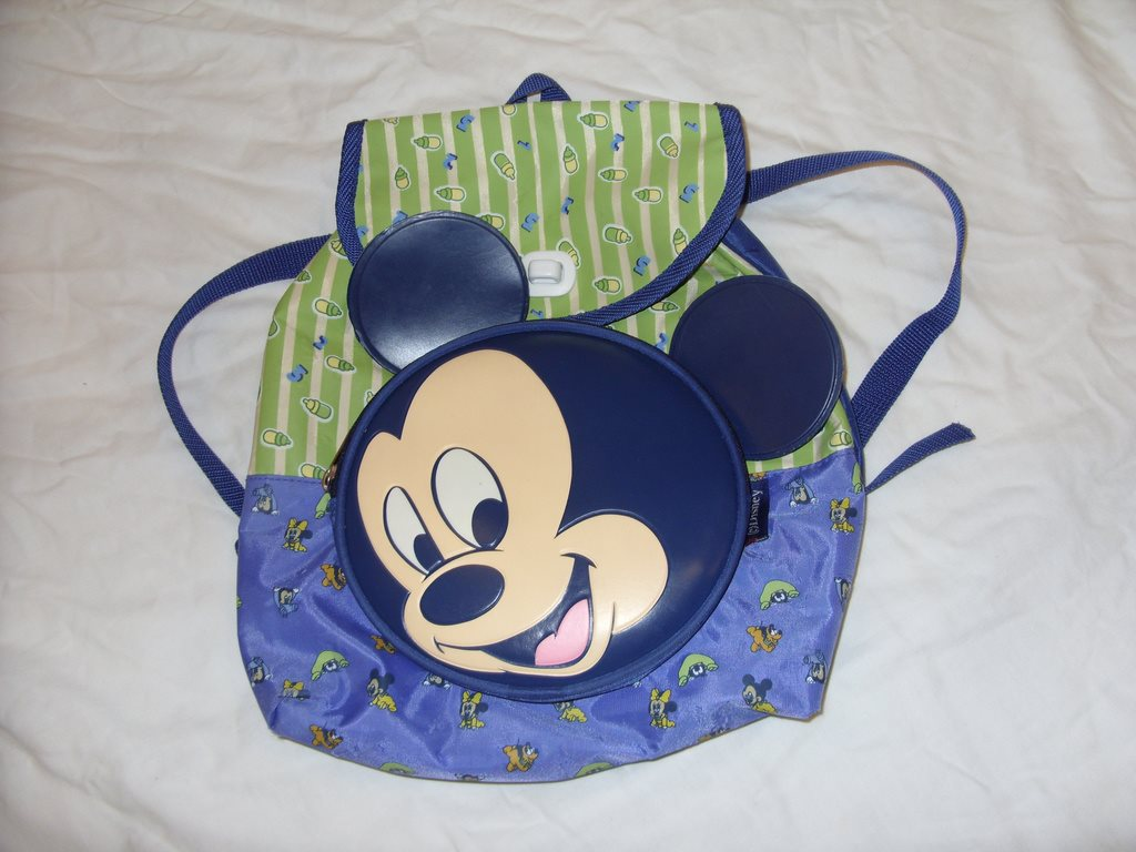 Disney Musse   Mimmi och Pluto baby ryggsäck Back Pack Mickey and Minnie  Mouse 2470d5bf65096
