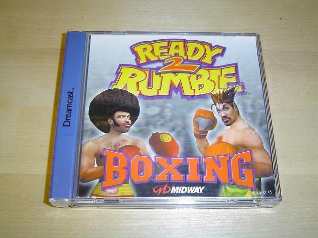READY 2 RUMBLE BOXING TILL SEGA DREAMCAST *NYTT*