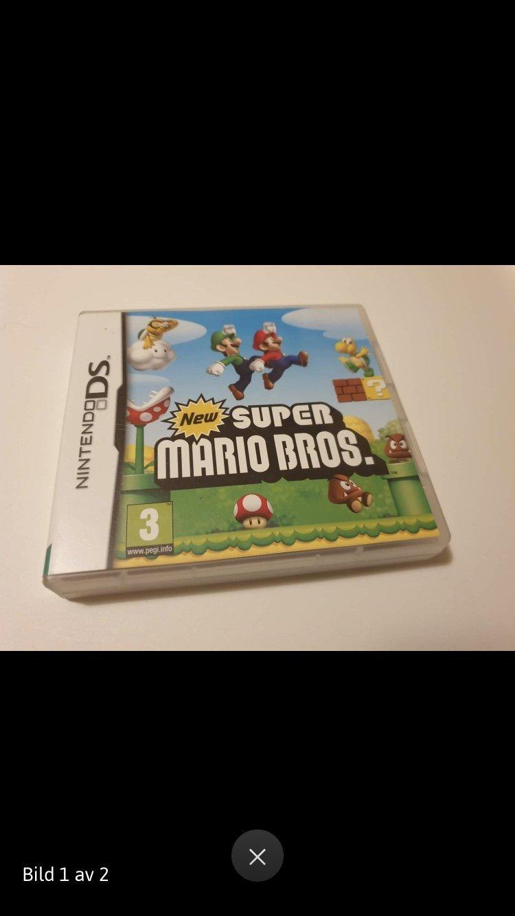 New super mario bros Nintendo Ds (354886736) ᐈ Köp på Tradera