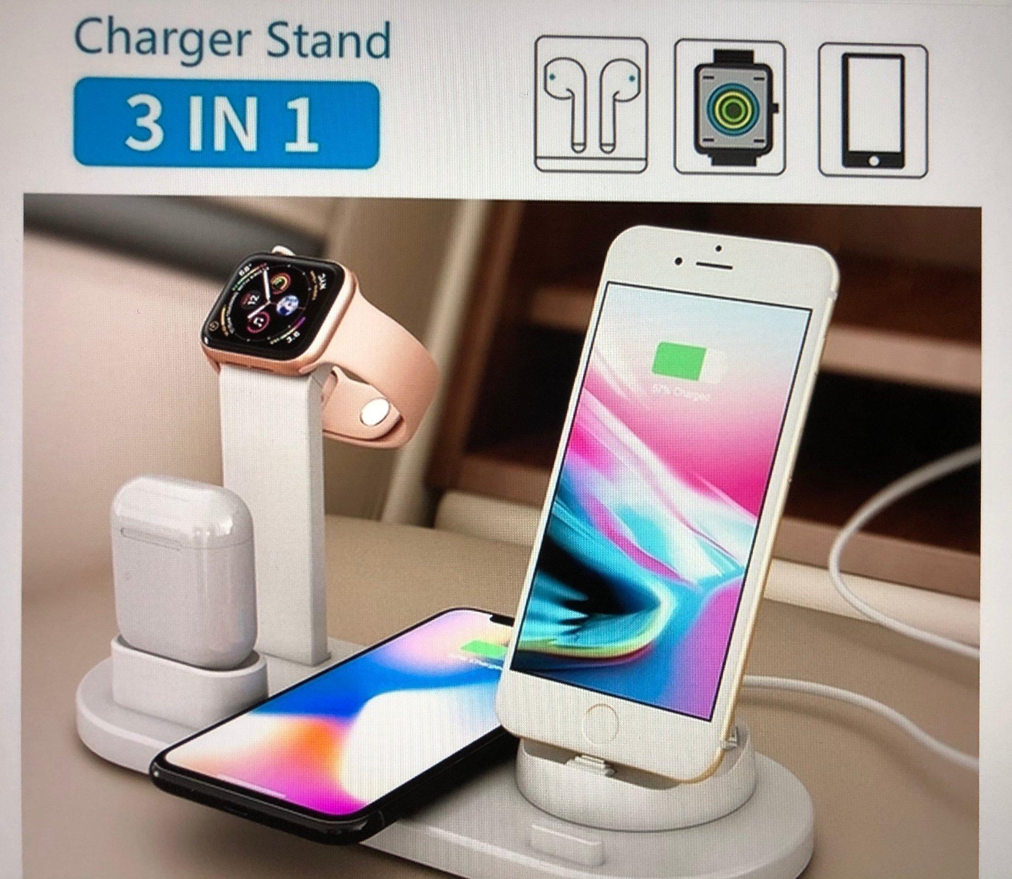 Laddare 3i1 till iPhone 44S