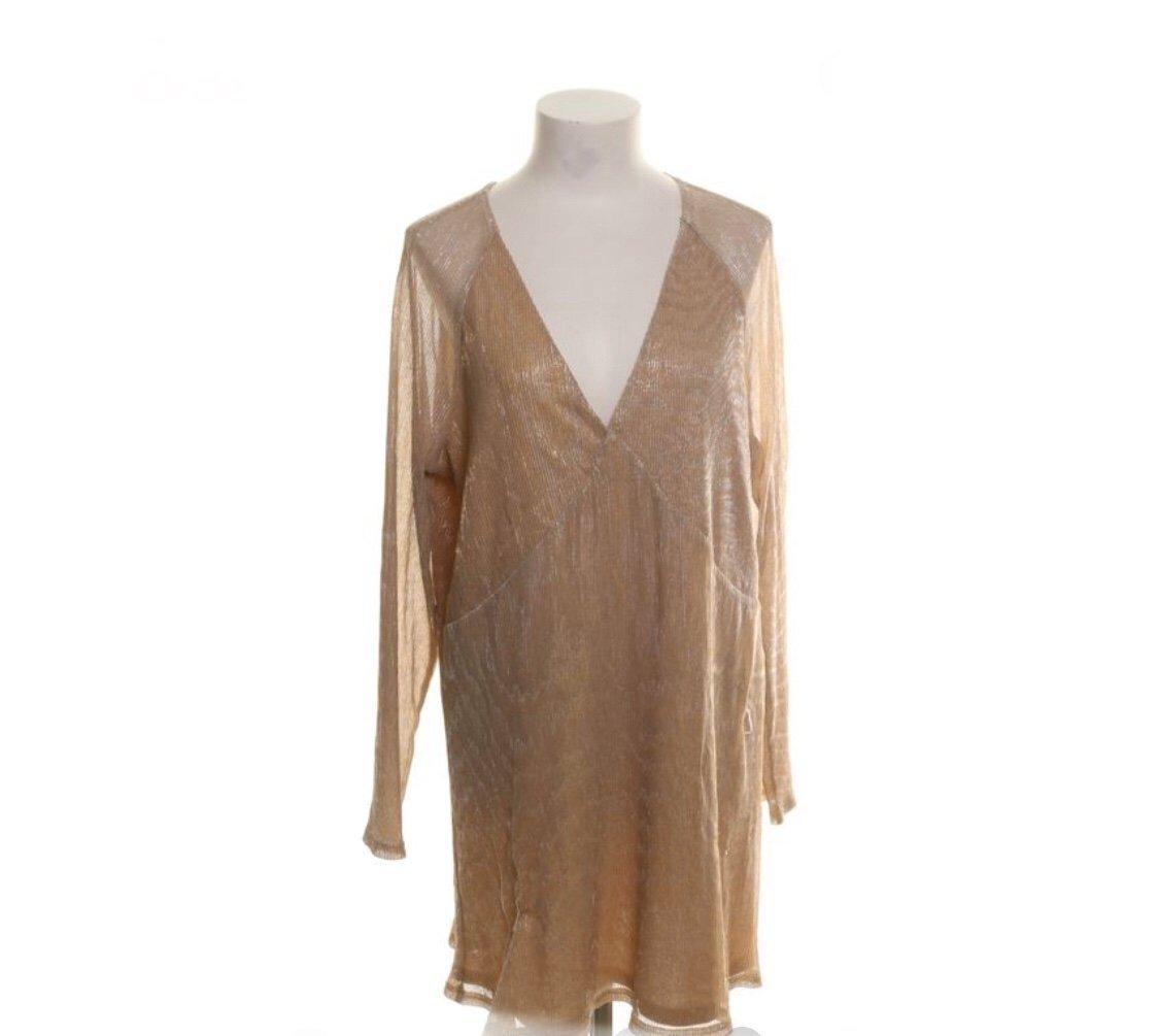 Nelly, NLY, trend, klänning, Strl: L, guld (398005791) ᐈ