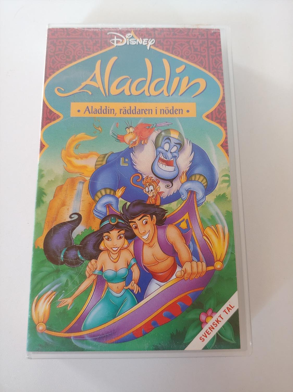VHS Film, Disney Aladdin, Räddaren i nöden