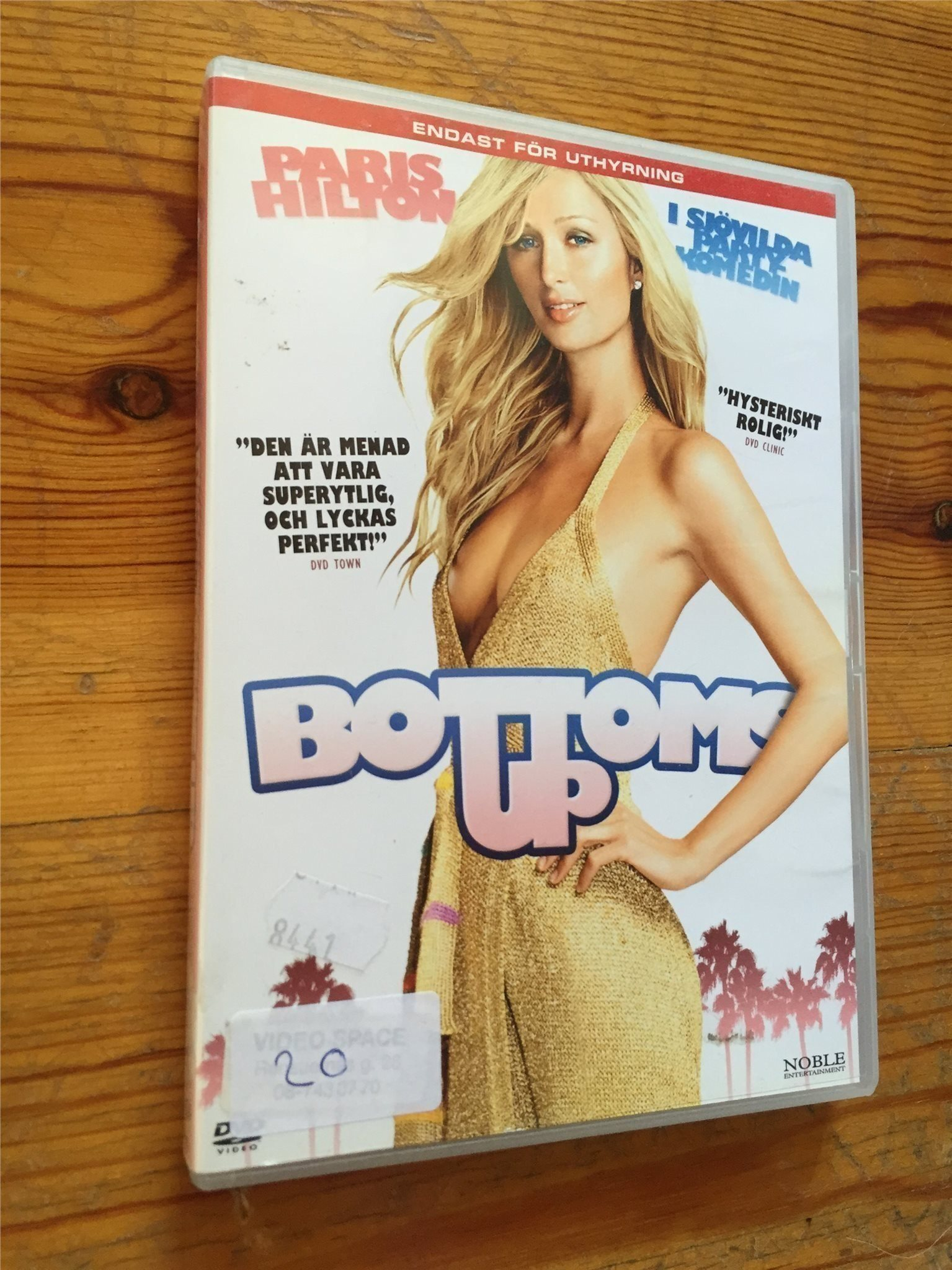 Bottoms up - Paris Hilton - (original DVD)