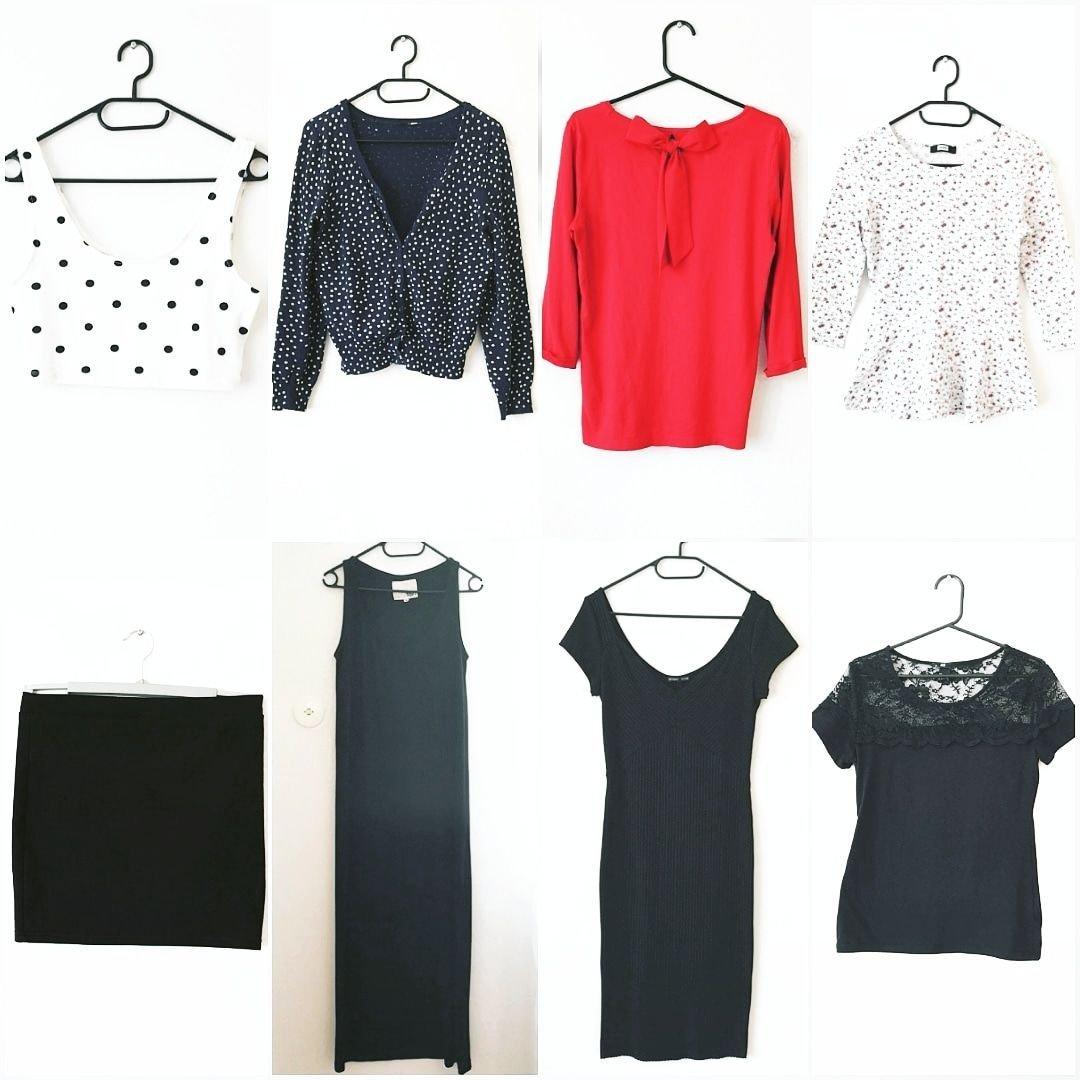Klädpaket M 38 maxiklänning klänning croptopp m.. (355297743