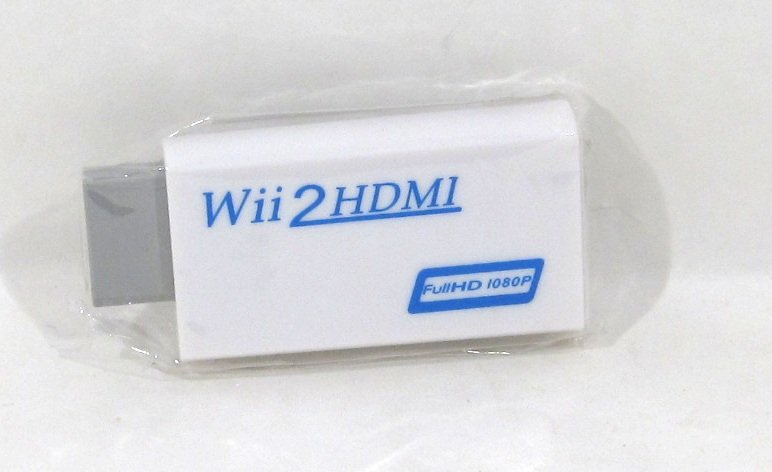 Wii 2 HDMI adapter med 3.5 mm uttag, Wii2HDMI