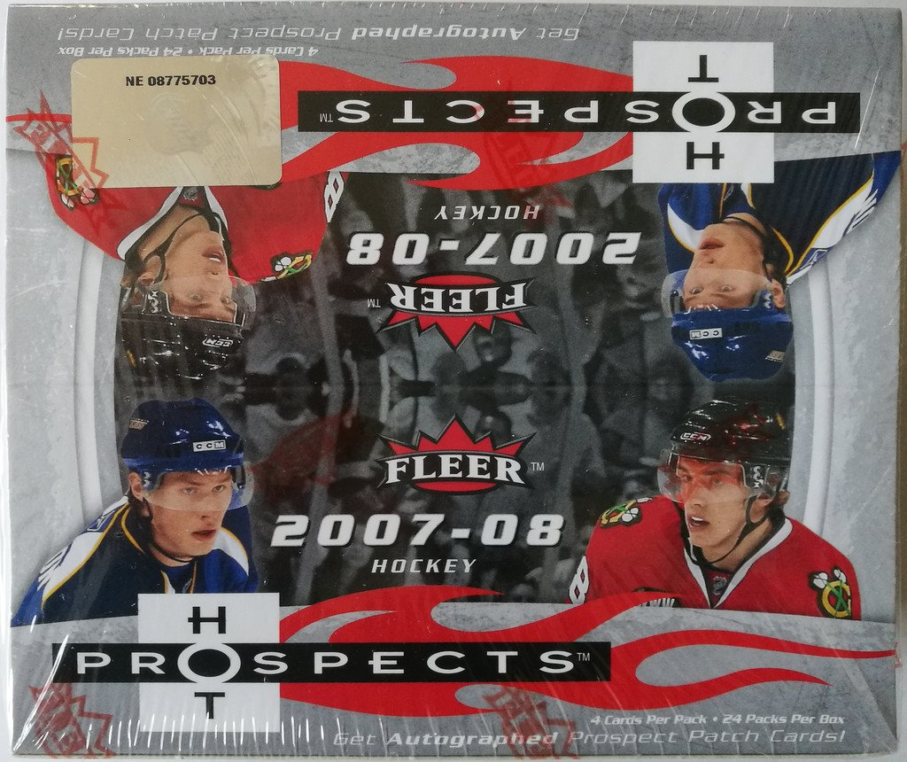 2007/2008 Fleer Hot Prospects NHL Hockey Retail Box