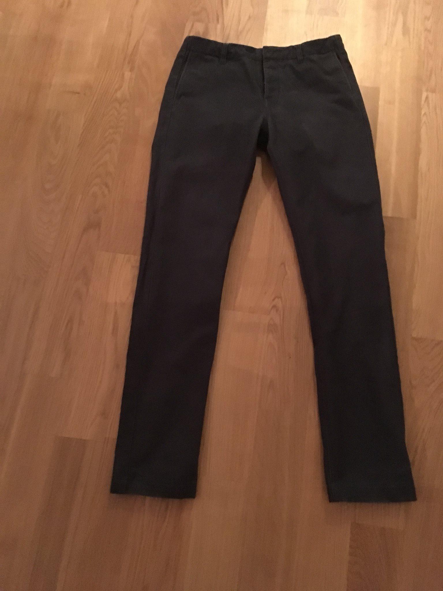 Filippa K grå chinos (moleskin) storlek 48 (337201603) ᐈ Köp på Tradera 76770a5a5b4b7