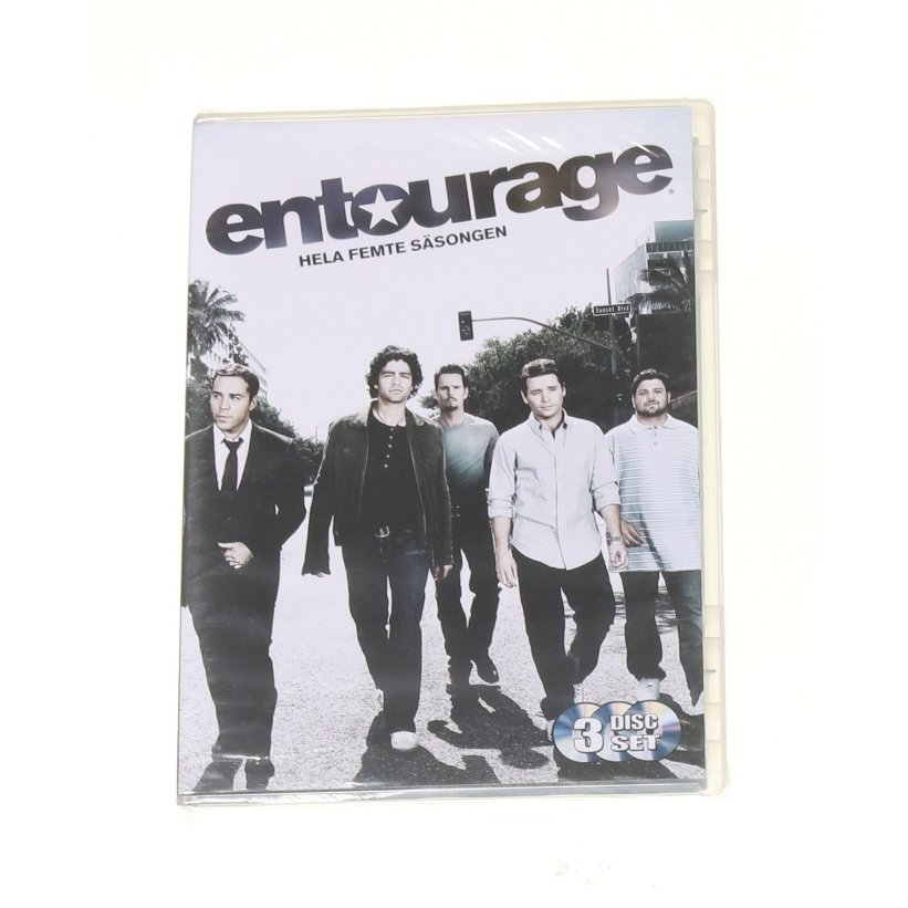 Entourage Hela femte säsongen, TV-serie, DVD, Action