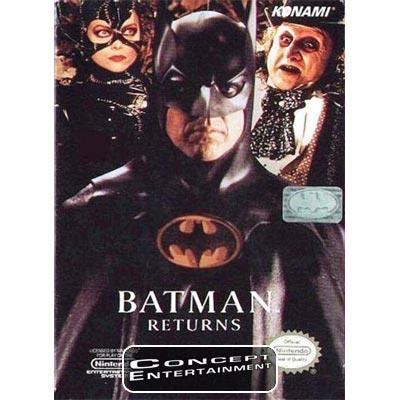 BATMAN RETURNS till Nintendo NES 8-Bit