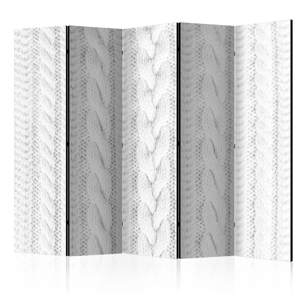 Rumsavdelare - White Knit II Room Dividers 225x172
