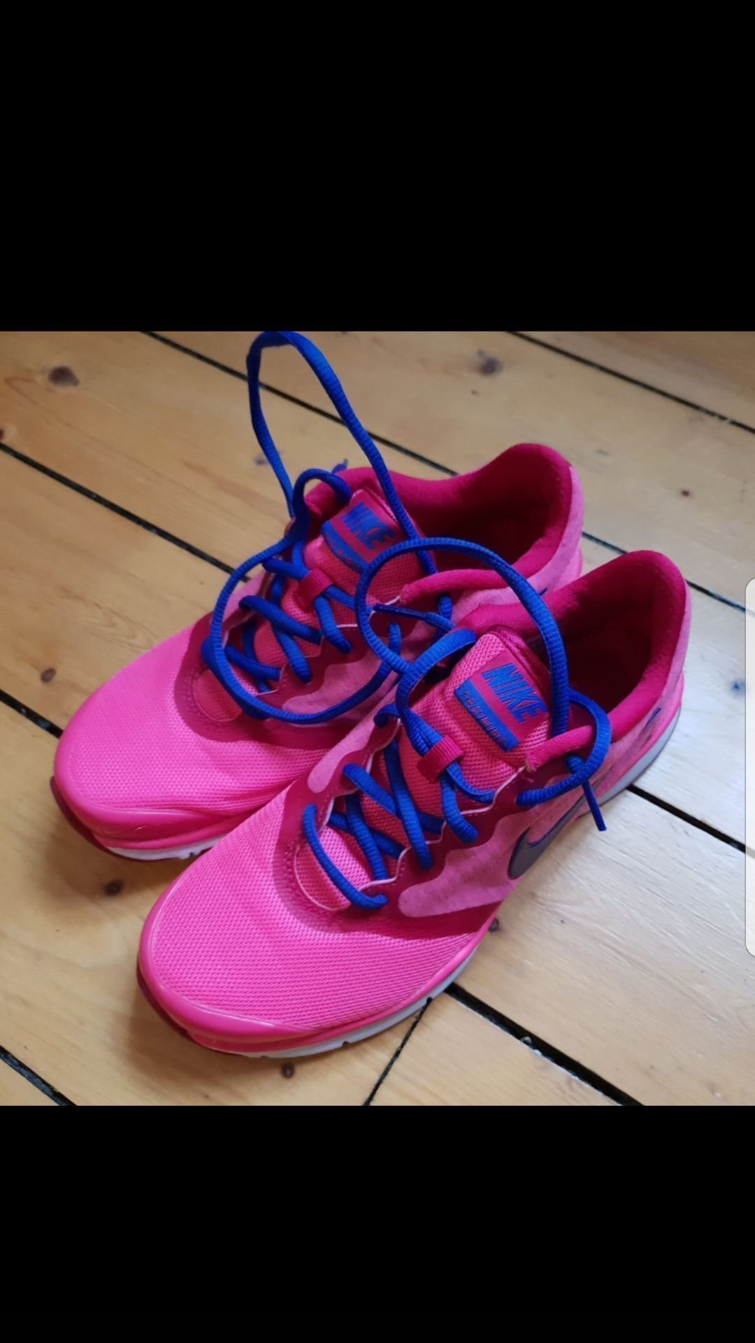 best cheap 40a84 19c57 Nikeskor  träningsskor Nike rosa storlek 37,5 (som 37) , fint skick