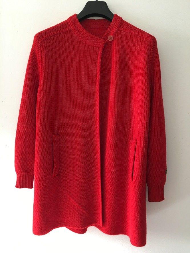 BUSNEL - Röd Kofta  Jacka - 100% Ull - One Size.. (342272110) ᐈ Köp ... abc1f6de5f2ac
