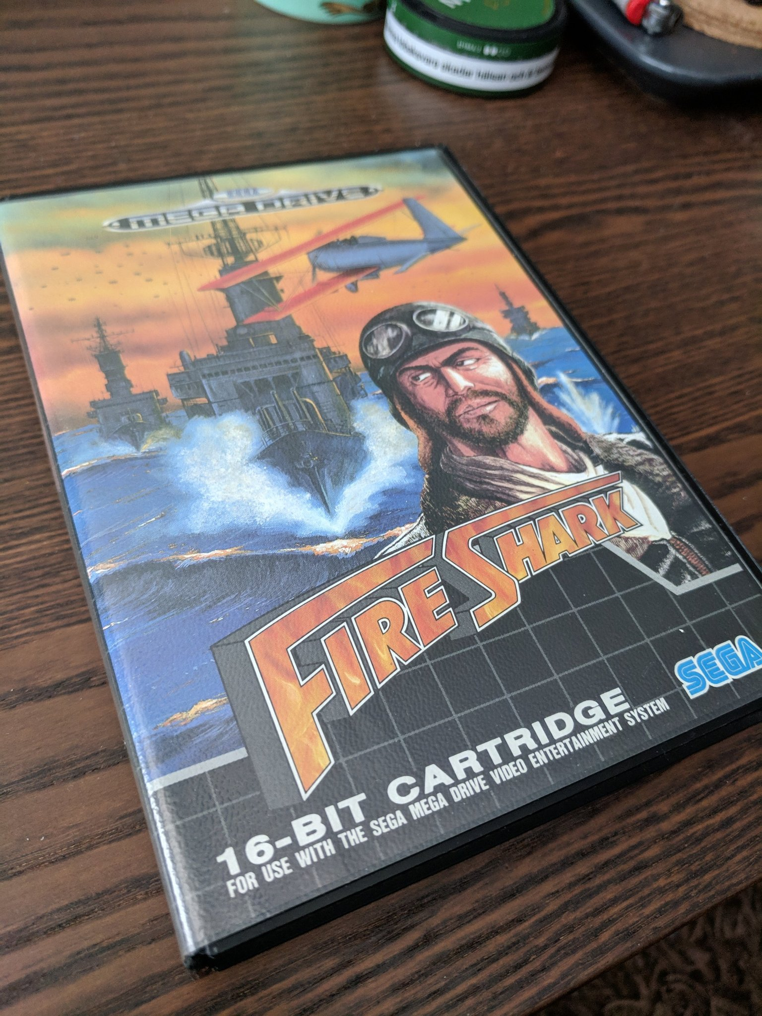 Fire Shark (shmup, PAL)
