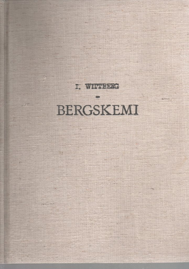 Bergskemi - I. Wittberg