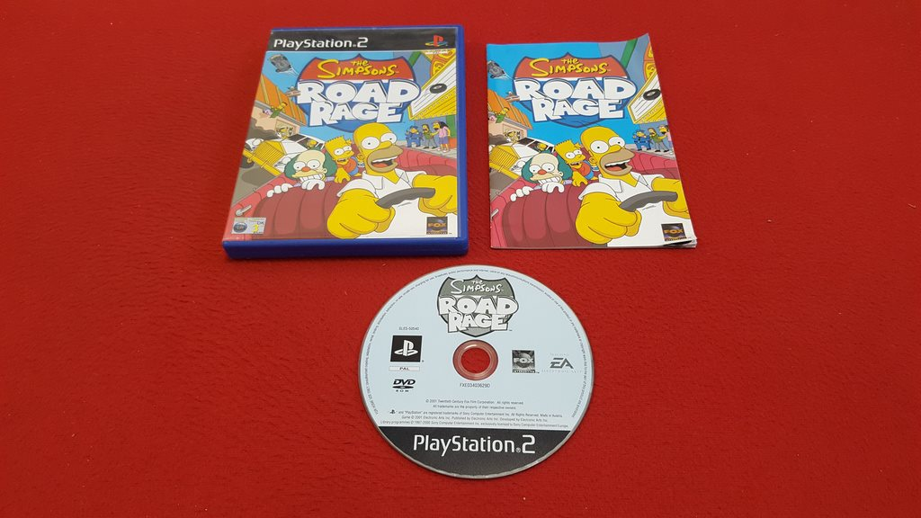 THE SIMPSONS ROAD RAGE till Sony Play   (332821452) ᐈ game