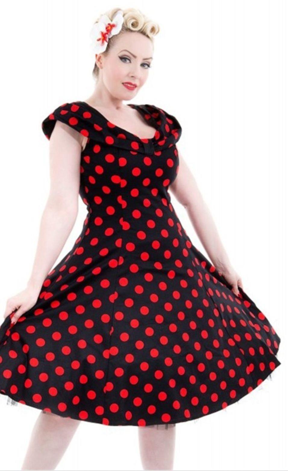 rockabilly pinup klänning