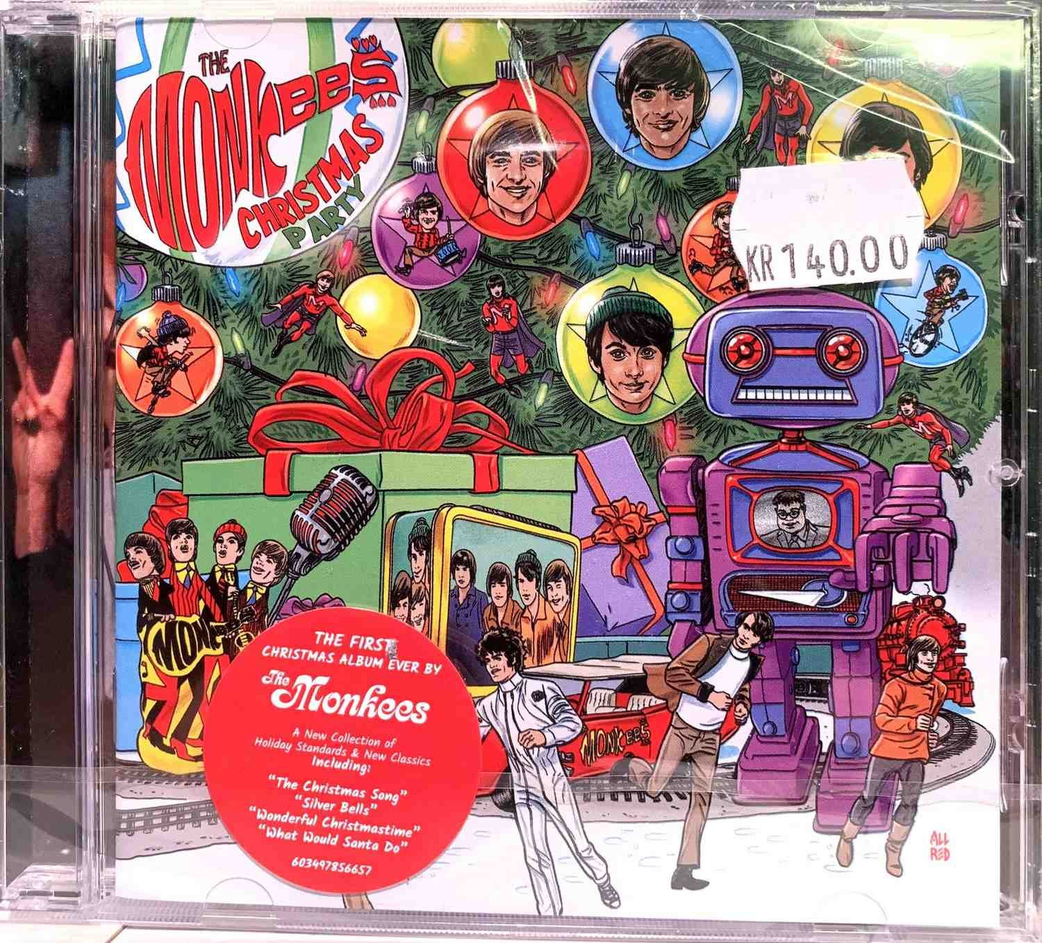 Monkees Christmas Party.Monkees Christmas Party 357452804 ᐈ Backbeat Pa Tradera