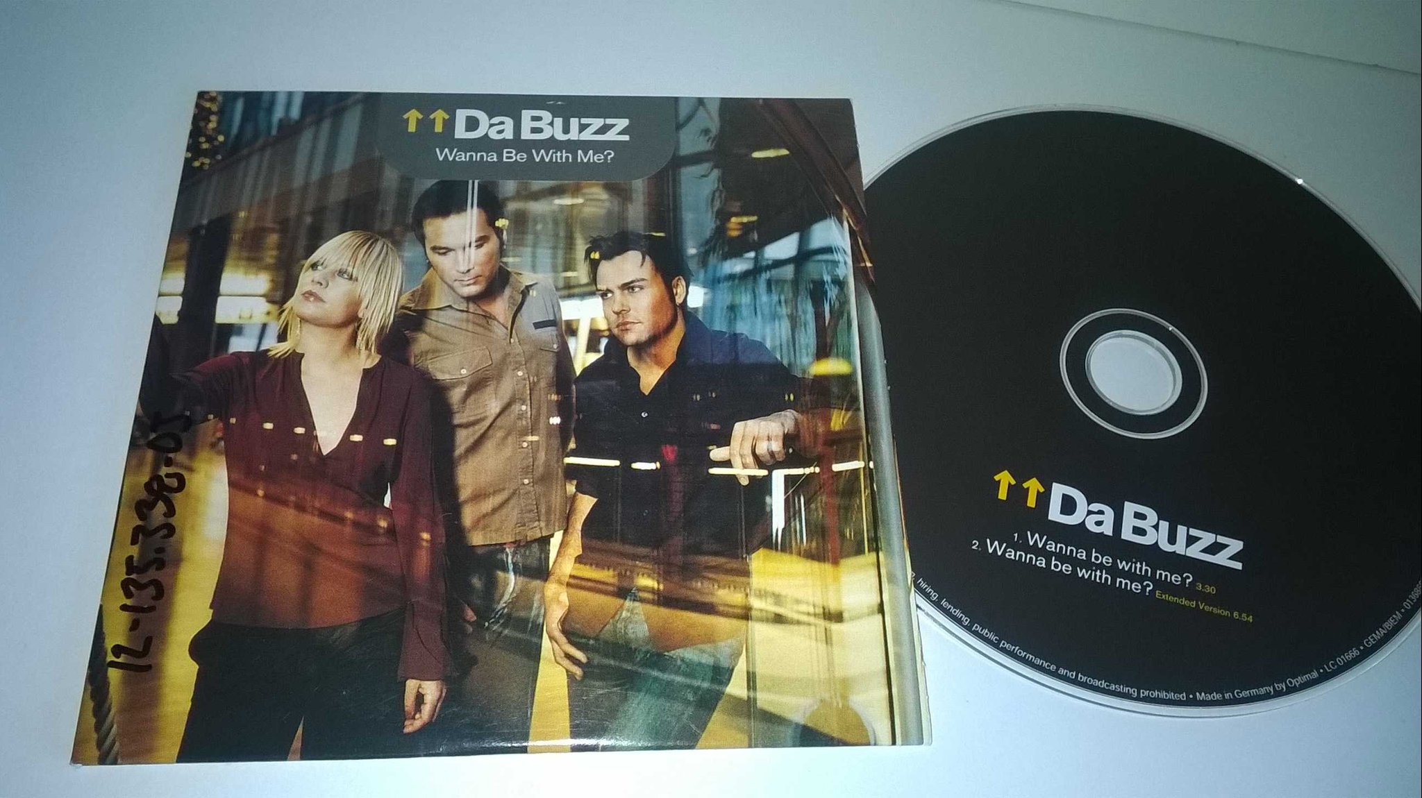 Da buzz - Wanna be why me?, single CD