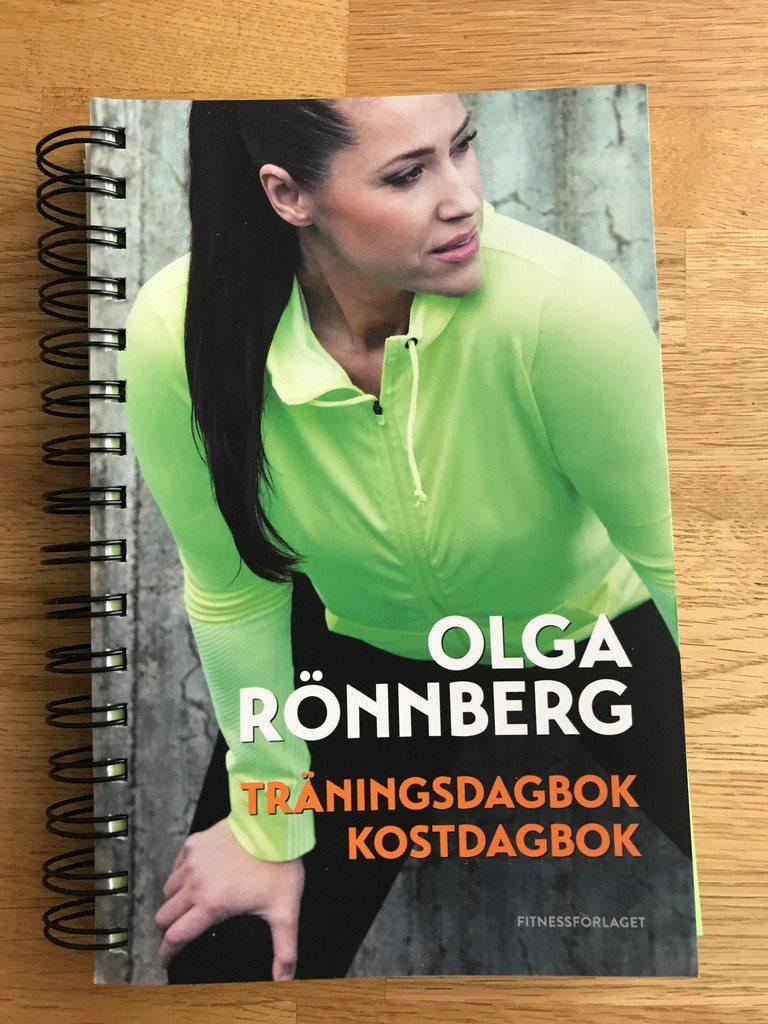 olga rönnbergs träningsdagbok