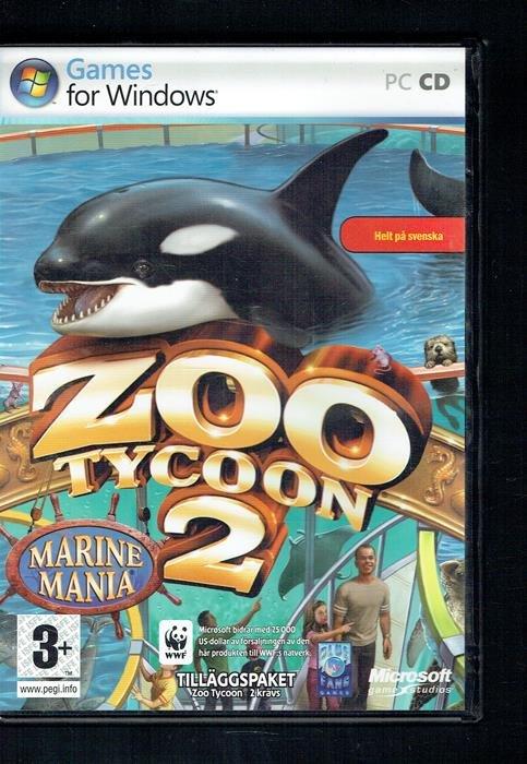 Pc-spel - Zoo Tycoon 2 - Marine mania (346878276) ᐈ Köp på