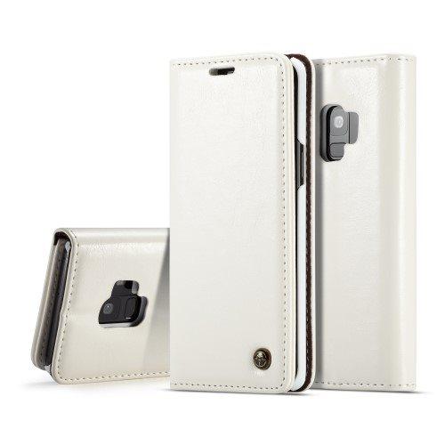 Samsung Galaxy S9 plånboksfodral Caseme - VIT (320574595) ᐈ Kavas ... e2874eeb116ec
