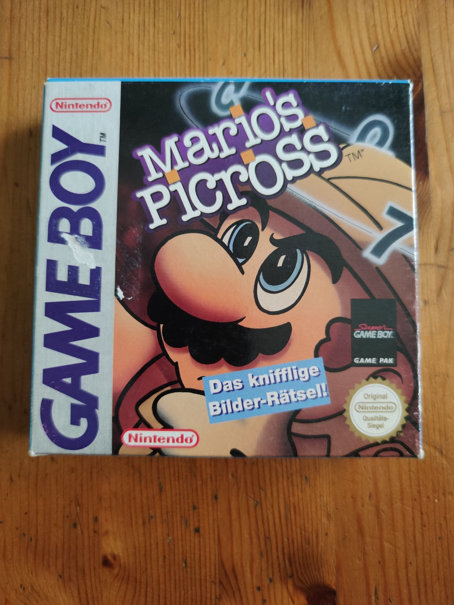 Marios Picross ~ Game Boy ~ Fint skick!