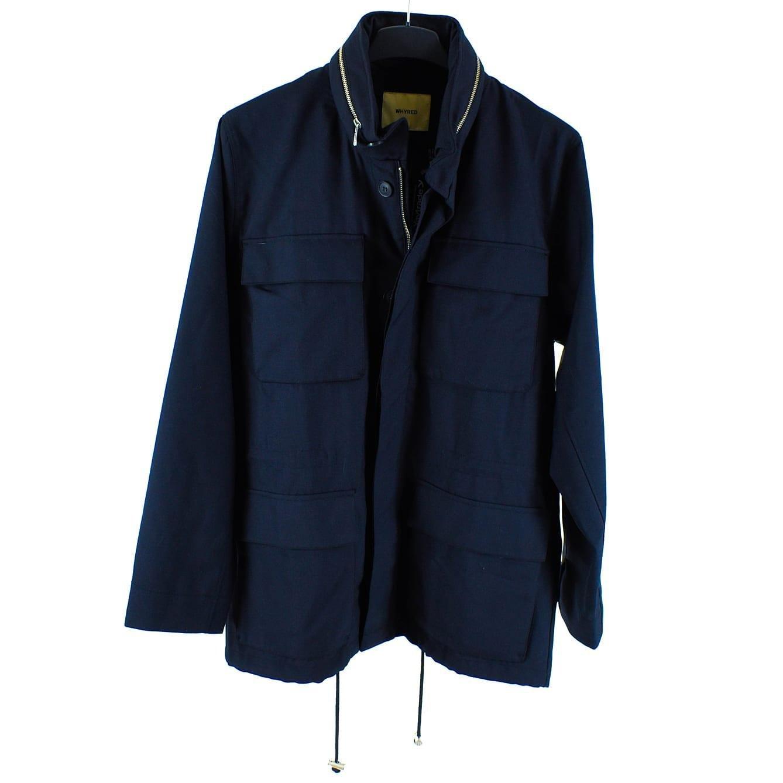 Ny blå ulljacka från Whyred, strl 50