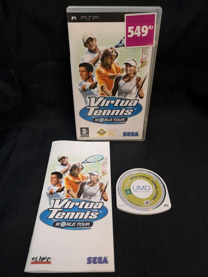 Virtua Tennies World Tour / PSP / Sony / Playstation.