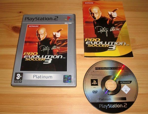 PS2: Pro Evolution Soccer 3 - PES 3 (297781588) ᐈ