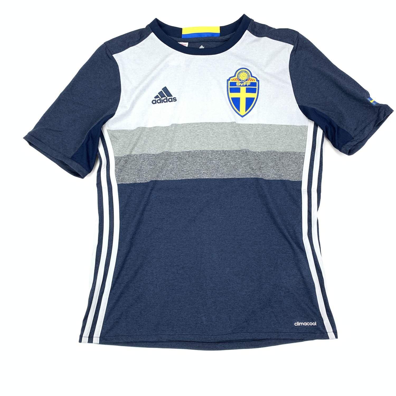 Sverige Tröja, SvFF, stl 176, Adidas, Fotbolls EM, Bortaställ