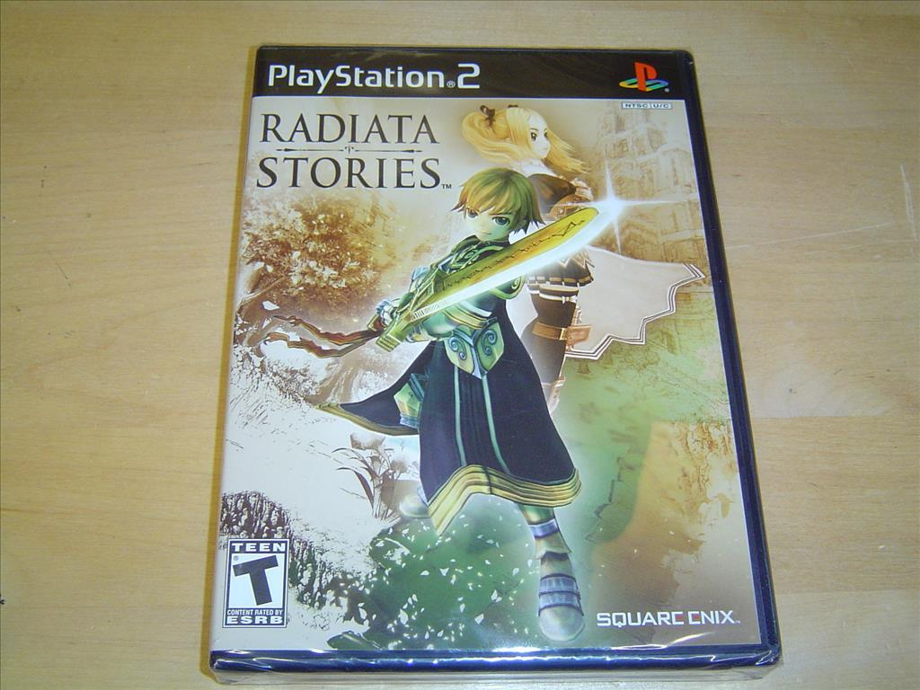 Radiata Stories Sony Playstation 2 PS2 Amerikanskt USA NTSC NYTT