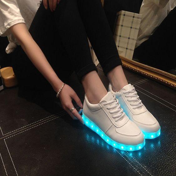 7f5e7223269d Unisex Trendiga LED - Sneakers Influencer/Mode.. (338719347) ᐈ Köp ...