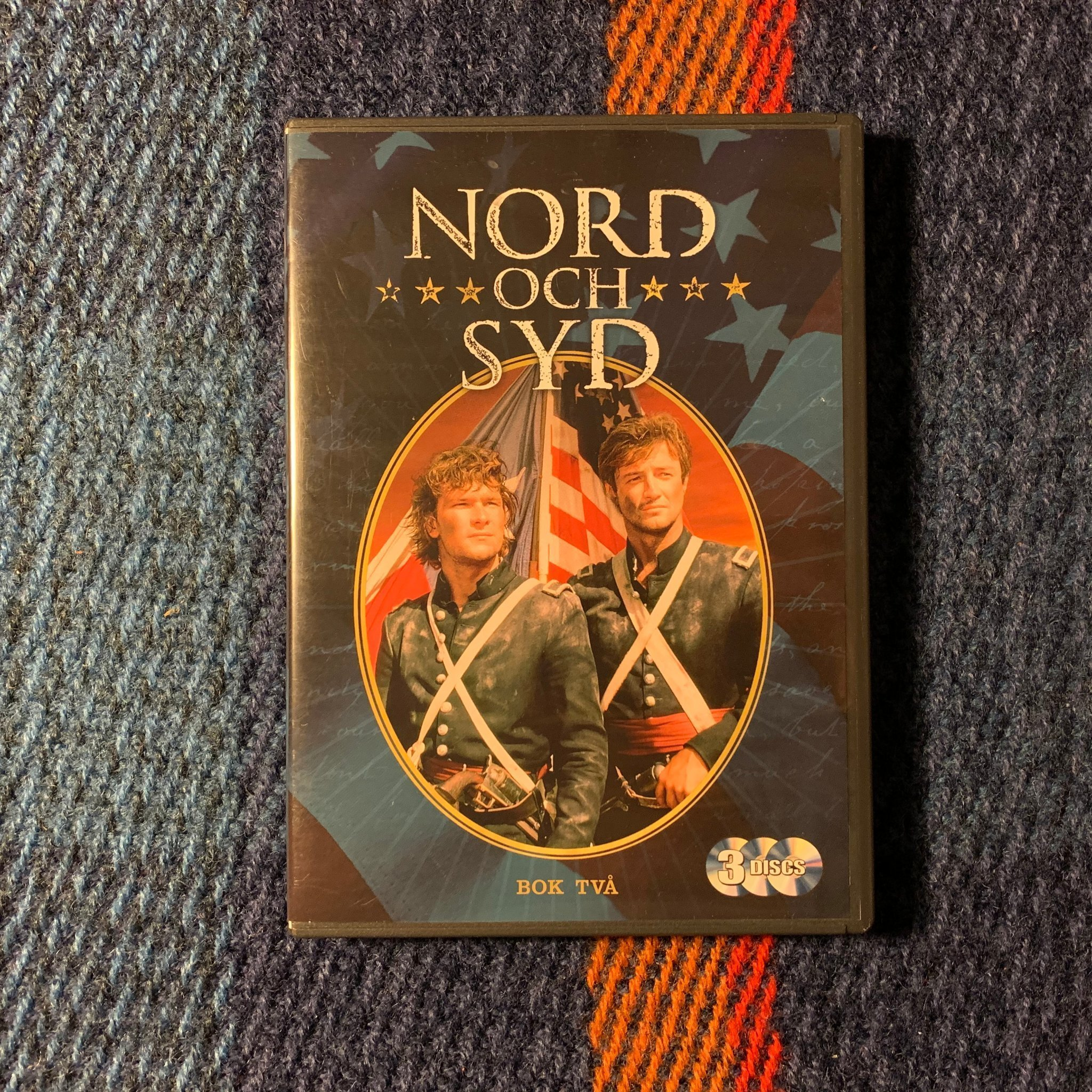 Nord och syd (Bok 2) Box nr 2 - DVD Love and war Patrick Swayze