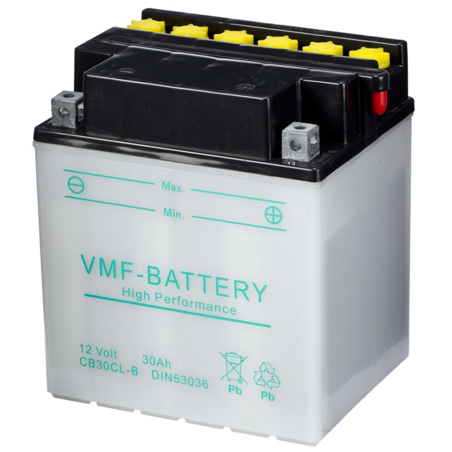 VMF Powersport Batteri 12 V 30 Ah CB30CL-B