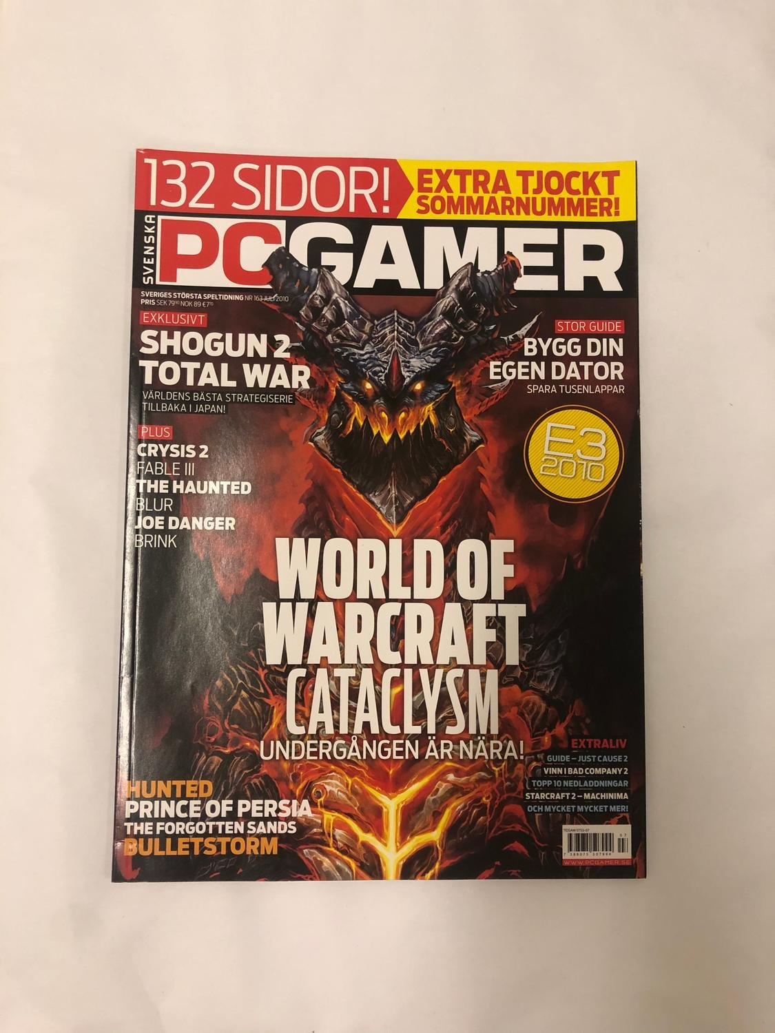 PC Gamer Nr 163 WoW Cataclysm Fable III Blur Brink Prince of persia
