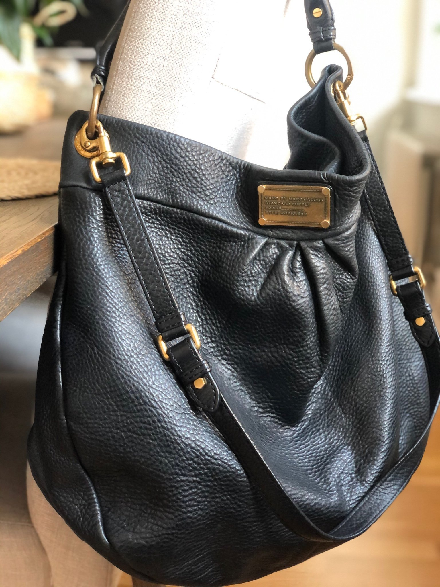 Marc by Marc Jacobs' leather Q 'Hillier Hobo' bag