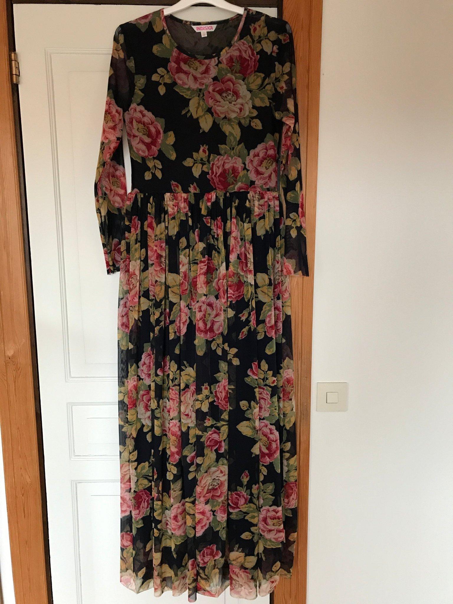 långklänning med ärm