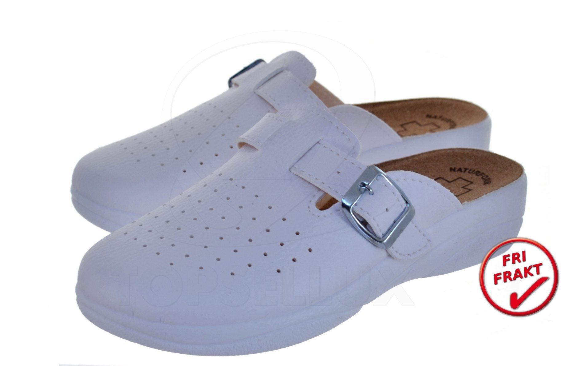 a4267879d42 Nya vit kork damskor sandaler tofflor kilklack dam skor toffel inneskor  strl 38 ...