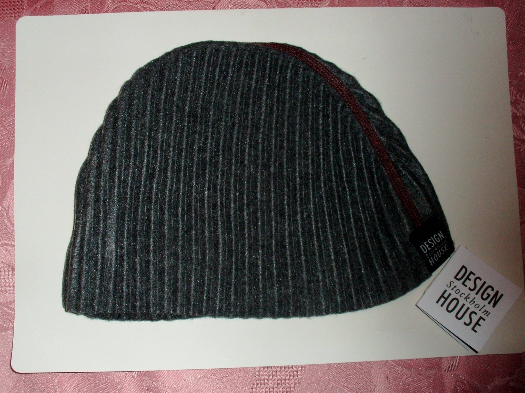 8caf6f84143 Design House Stockholm Pleece Beanie hat grey (344627500) ᐈ Köp på ...