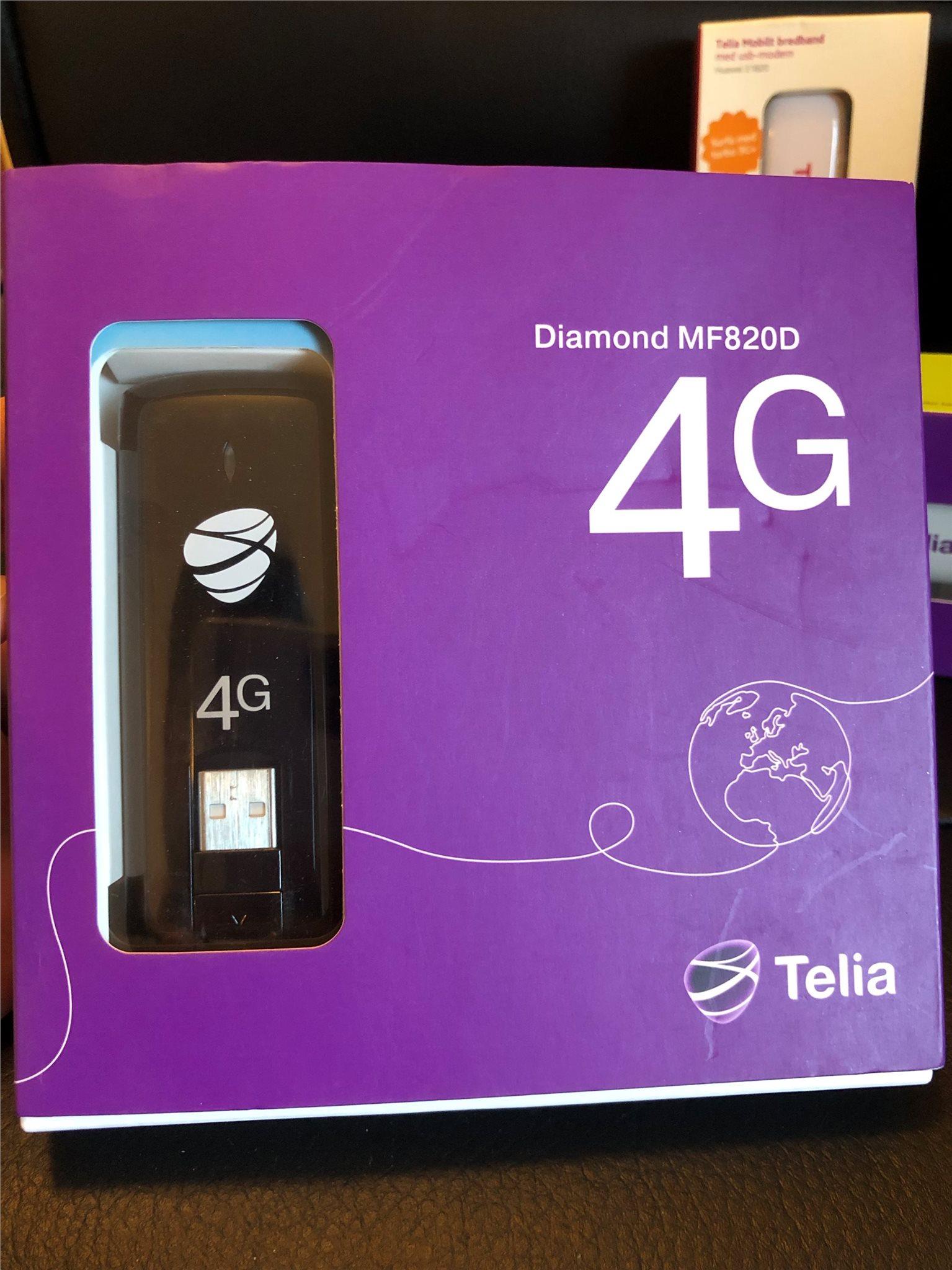 4g usb modem telia